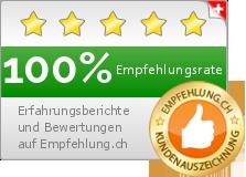 Empfehlung.ch Widget